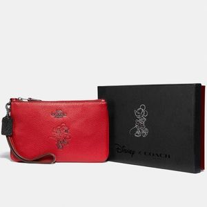 Coach Disney Minnie Mouse Small Wristle